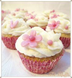 Frk Muffin: Boblende muffins: Champagnemuffins