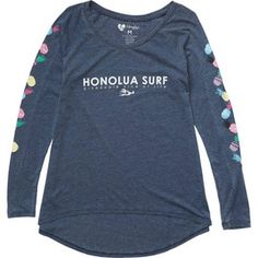 HONOLUA HONOLUA PRODUCTS PINEAPPLE PARTY LS TEE