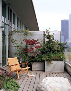 Neil Alan Designs: Life + Style: URBAN BALCONY GARDEN