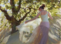 Vladimir Volegov ''Women in the Dunes'' 100*73cm.Oil on canvas October 2016