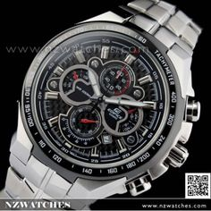 Casio Edifice Chronograph Screw Lock Crown Sports Watch EF-554SP-1AV d6d0418578