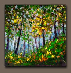 Buy painting Foggy FOREST LANDSCAPE - original painting for sale by Rybakow #forest#dailypainter#artoftheday#youtuber #arttutorial#tutorial#demonstration #abstractpainting Abstract Landscape Painting, Artist Painting, Landscape Paintings, Bright Paintings, Buy Paintings, Foggy Forest, Original Paintings For Sale, Oil Painting Flowers, Forest Landscape