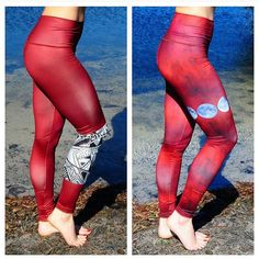 Eco-Friendly Downdogz Jiva Pants! Made of recycled plastic bottles! Super soft material that DOES NOT slip or move around while trying to do yoga or exercise! Buy yours today at www.OceanAvenueBoutique.com #yogaeverydamnday #crossfit #yogachallenge #yogaeverywhere #yoga #fitness #eco #ecofriendly #ecofriendlyfashion #runner