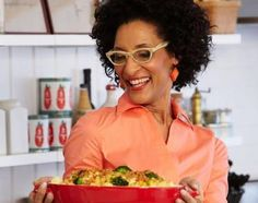 """Interview with chef Carla Hall (of """"Top Chef"""" and """"The Chew"""") - Shrinking Momster"""