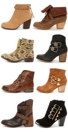 Ankle Boots Forever via lulus.com