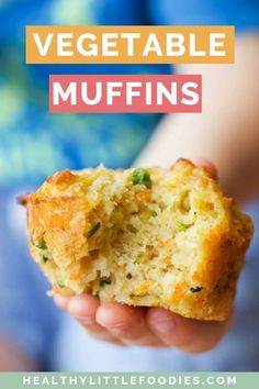 Savoury muffins packed with four different vegetables. Perfect for the lunchbox and great for baby-led weaning. via Savoury muffins packed with four different vegetables. Perfect for the lunchbox and great for baby-led weaning. via Healthy Little Foodies Healthy Savoury Muffins, Vegetarian Muffins, Savory Snacks, Healthy Muffins For Kids, Savoury Breakfast Muffins, Healthy Snacks Vegetarian, Vegetarian Recipes For Kids, Recipes Kids Can Make, Vegetarian Sandwiches
