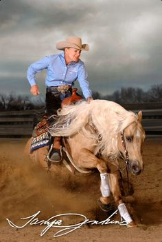 Tanya Jenkins, Professional Reining Horse Trainer and Multiple NRHA Open Futurity and Derby Finalist.
