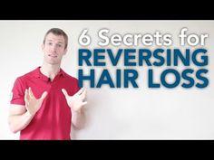 6 Secrets for Reversing Hair Loss - DrAxe.com