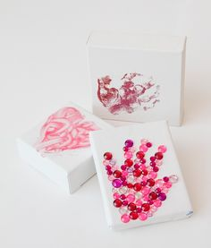 3 easy mother's day handprint crafts