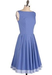 Periwinkle Blue Summer Dress
