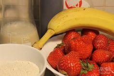 Crepes de avena y fruta. Receta fitness de la web marcrivero.com #MantenerLaLínea #Recetas #Salud