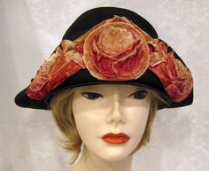 Hey, I found this really awesome Etsy listing at https://www.etsy.com/listing/256091936/vintage-20s-cloche-hat-black-straw