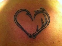 Not planning on getting a tattoo anytime soon, but if I do, this would be it with Grants initials on the inside!