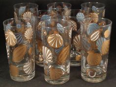 Barware Collection - GEORGES BRIARD - SEASCAPE - HIGHBALL GLASSES