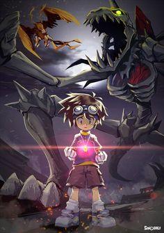 Manga Anime, Anime Art, Digimon Wallpaper, Digimon Adventure 02, American Dragon, Digimon Frontier, Digimon Tamers, Digimon Digital Monsters, Kingdom Hearts Art