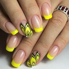 Beautiful by @kristina_beautynails ____________________________ #nailart #uñas #boricuanails #hotnai - romallynails