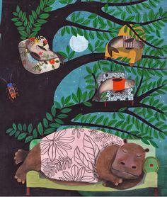 Il grande libro dei Pisolini, edito da Topipittori, illustrazioni di Simona Mulazzani.