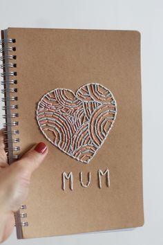 DIY: Embroidered Journal