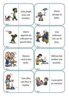 Dans ma valise pédagogique: Dominos de lecture : les phrases
