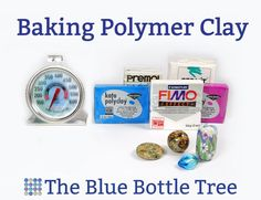 Learn all about baking polymer clay. Find out what kind of oven to use, why you need a thermometer, and learn tips to prevent browning and burning.