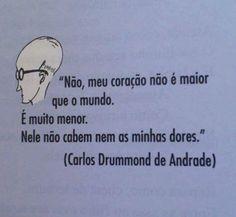 ♛Carlos Drummond de Andrade #Brazil #poetry #poem