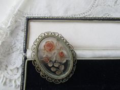 Vintage brooch 1930's  pin needed by Nkempantiques on Etsy