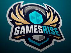Behance is the world's largest creative network for showcasing and discovering creative work Dna Logo, Game Logo Design, Esports Logo, Mascot Design, Buick Logo, Custom Logos, Logo Inspiration, Logo Branding, Concept