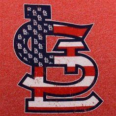 Red, White & Blue - St. Louis Cardinal's logo