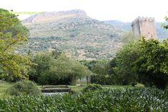 Giardino di Ninfa - paesaggio circostante