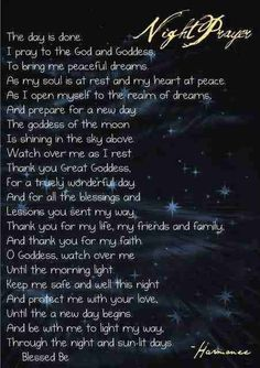 Pagan Spells | Wicca Night spell | Wiccan/Pagan/Magick