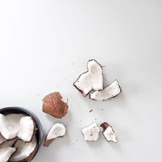 coconut, foods, tumblr, cute // pinterest and insta → siobhan_dolan