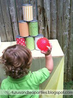 παιχνιδια για παρτυ με τενεκεδακια - κινηση και αγωνια