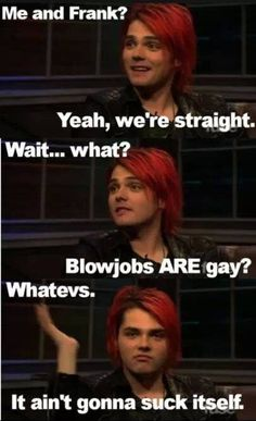 My Chemical Romance XD Gerard Way