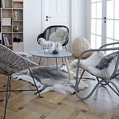 Uberlegen Tujuh/ Rentierfell Von Bloomingville, Dekoration Und Teppich Bambus Stühle,  Auto Möbel, Skandinavischer