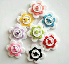 bottoni fiore