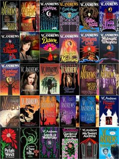 VC Andrews Collection I've read nearly all of them and they are all good! The Dollanger Series (Flowers in the Attic) was my favorite. I actually cried at a little at the end of the last book.
