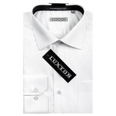 Verno Luxton Men's Fashion Fit Dress Shirt