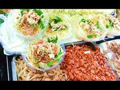 Asian Street Food, Fast Food in Asia, Cambodian Food in My Village #059