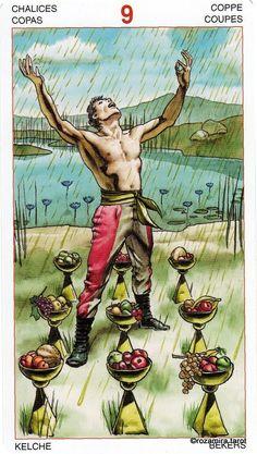 Nine of Cups - Initiatory Tarot of the Golden Dawn by Giordano Berti, Patrizio Evangelisti