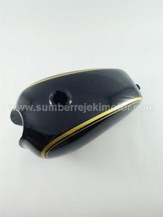 Tangki Japstyle Mini Plesir Hitam/Gold
