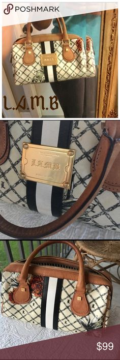 LAMB Marigold Small Handbag Excellent condition please see pics, any questions feel free to ask 😁 BUNDLE TO SAVE EVEN MORE 🤑🤑🤑 L.A.M.B. Bags Mini Bags