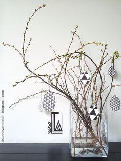 Easter DIY - lisannevandeklift.blogspot.com