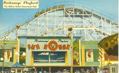 Playland occupied the Rockaway, Queens Broadway between 1902 and The park was a very popular summer destination, and is considered an important part of the iconic glory days of Rockaway Beach. Rockaway Park, Far Rockaway, Rockaway Beach, Howard Beach, Roadside Attractions, Wonderful Places, Wonders Of The World, American History, Image Search