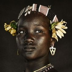 tribal woman, Africa