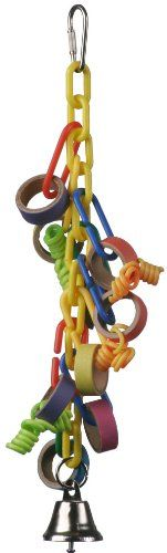 Super Bird Creations 11 by 2Inch Mini Hoopla Bird Toy Medium * Check this awesome product by going to the link at the image.Note:It is affiliate link to Amazon.