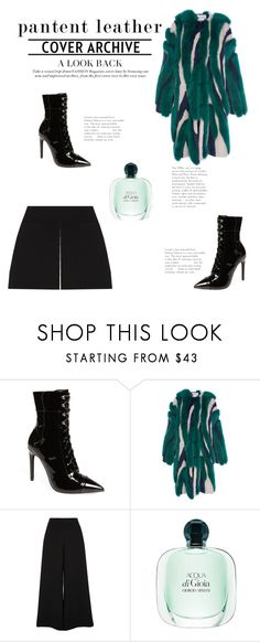 """""""Untitled #103"""" by ritaaalourenco ❤ liked on Polyvore featuring Jeffrey Campbell, Prabal Gurung and River Island"""