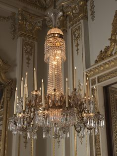 The Royal Collection: Set of chandeliers