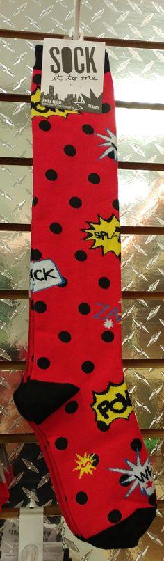 Sock it to me.  SPLAT! POW!  WHACK!  California Roller Skates