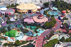 Dr. Seuss land  Universal Studios, Orlando