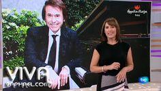Rafael en un canal de TVE. Canal describió el maestro y su nueva película.